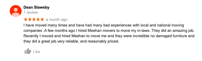 Image of Review for Meehan's Family Moving