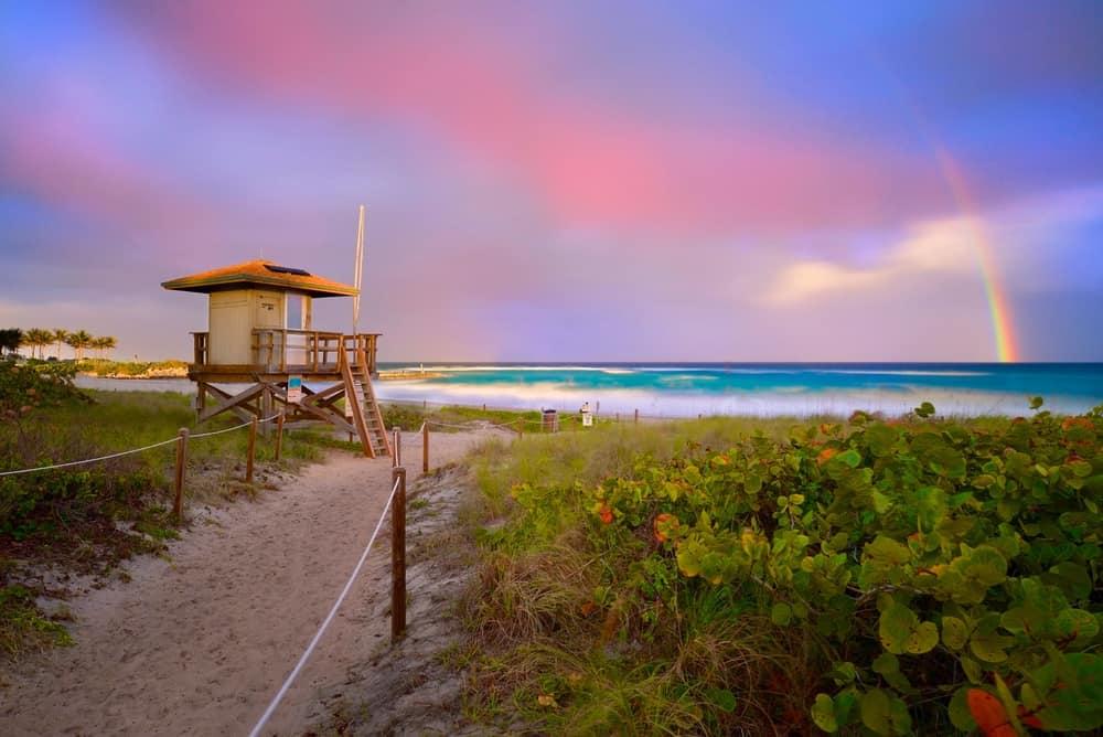 Boca Raton weather along the coast